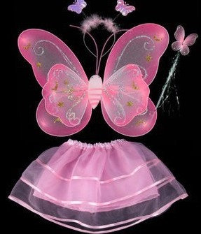 K..) Schmetterlingkostüm