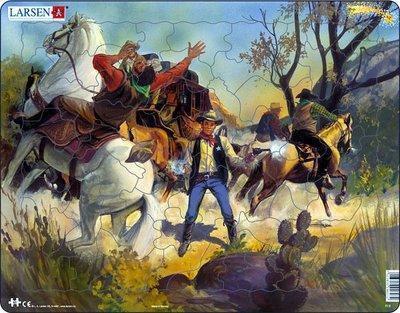K..63) Larsen Puzzle Pferde