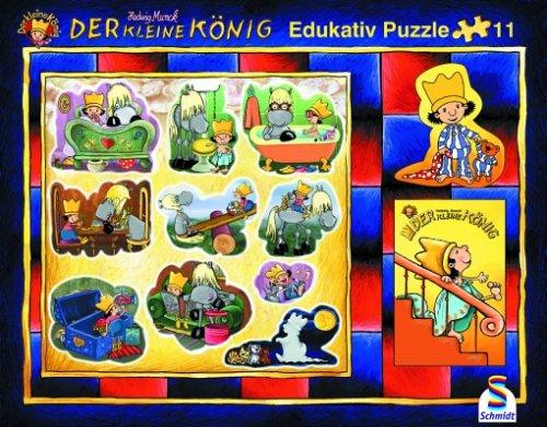 K..63) Schmidt Spiele – Der kleine König Puzzle