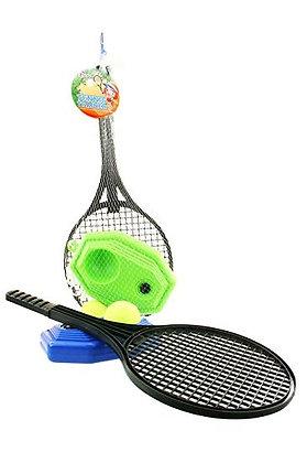 K..116) Tennis Coach in einem Netzbeutel