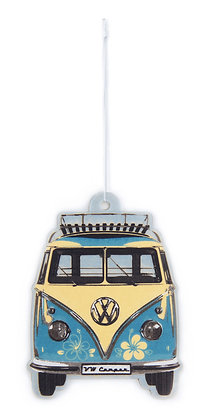 VW T1 BUS LUFTERFRISCHER - PIÑA COLADA/TÜRKIS
