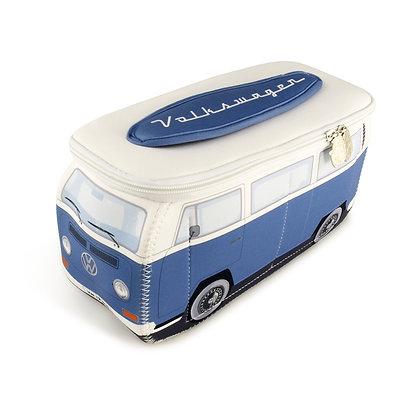 VW T2 BUS 3D NEOPREN UNIVERSALTASCHE - BLAU