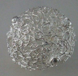 Grosse Silberkugel