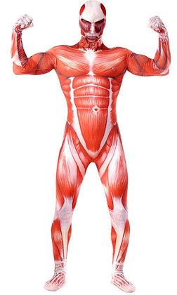 K..3) Körperkostüm Mensch