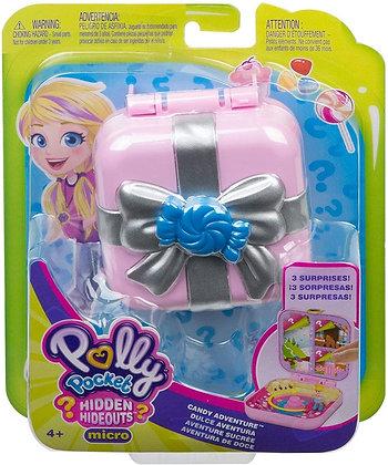 Mattel Polly Pocket Mini-Spielset, Süßigkeiten Abenteuer