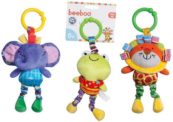 Beeboo Activity Spieltier für Kinderwagen 3- fach sortiert