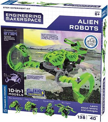 Kosmos Baukasten Alien Roboter