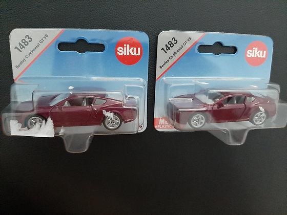 K..75) 2x SIKU Auto 1483