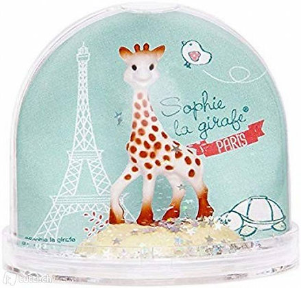 K..53) Sophie le girafe Schneekugel