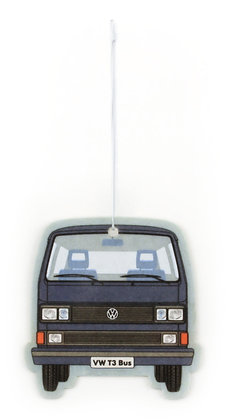 VW T3 BUS LUFTERFRISCHER - FRESH/BLAU