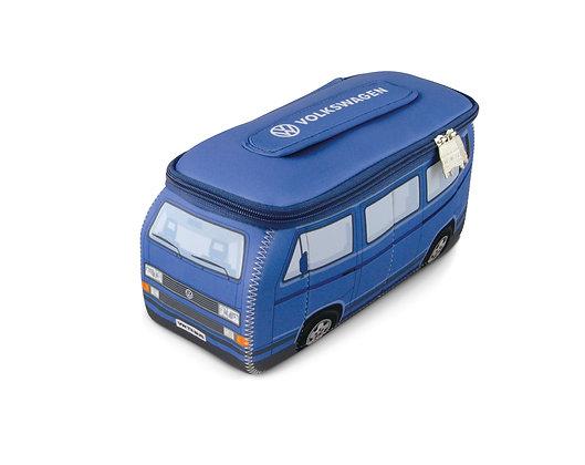 K..) VW T3 Bus 3D Neopren Unviersaltasche Blau
