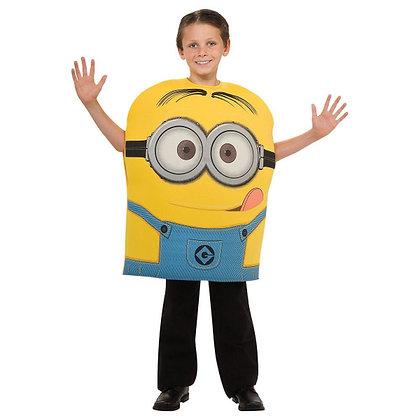 K..7) Kostüm Minion Dave Kind 5-6 Jahre
