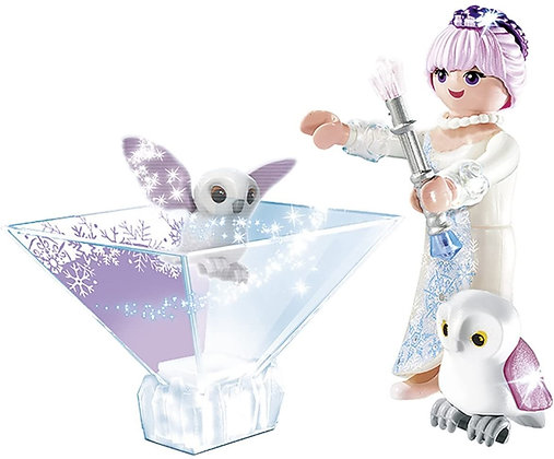 K..130) Playmobil Magic Prinzessin Eisblume