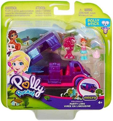 Mattel Polly Pocket Spielset Party-Limo 16,5cm