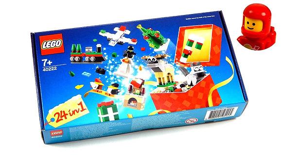K..41) LEGO 40222, 24-In-1 Weihnachtsspaß