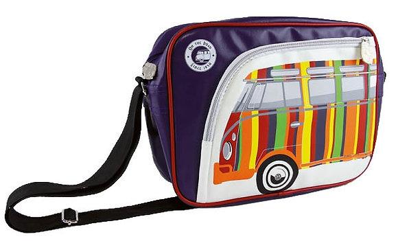 Schultertasche Quer VW Bus