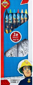 K..146) Feuerwehrmann Sam Mal Set