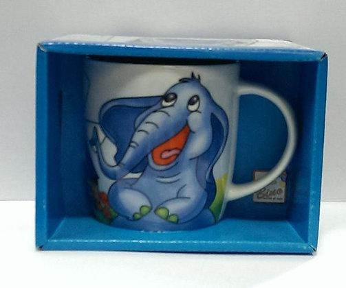 K..105) Bino Elefantentasse