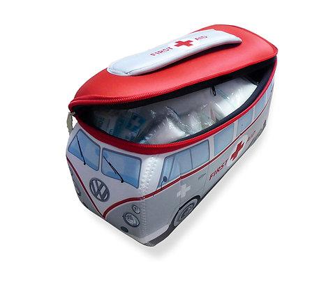 VW T1 BUS 3D NEOPREN MÄPPCHEN - FIRST AID/inkl. Erste-Hilfe Set