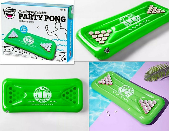 K..146) Aufblasbare Party Pong Pool