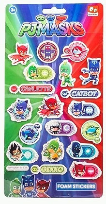 PJ Masks Sticker Set