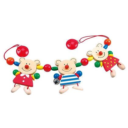 K..35/K..105) Kinderwagenkette Bären