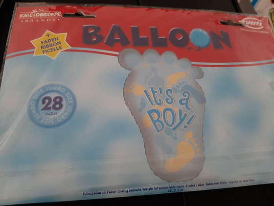 K..11) Ballon Its a boy & its a Girl