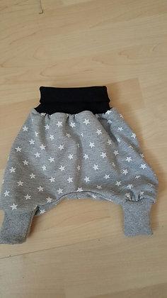 Pumphösli Gr. 50 - 56 - kleine Sterne