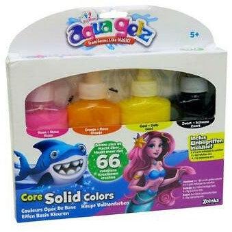Aqua Gelz Core Solid Colours 18x21cm