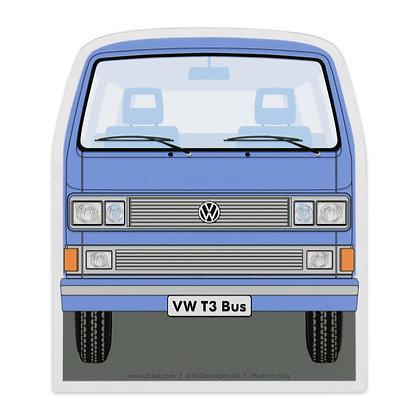 VW T3 BUS EISKRATZER - BLAU