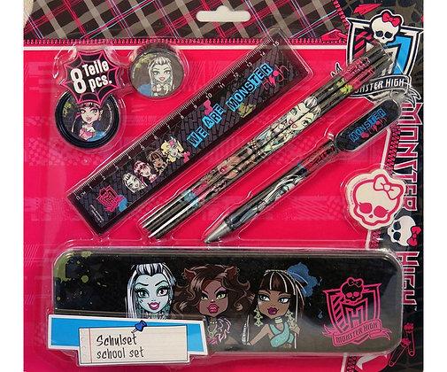 K..41) Monster High School Set 8 Teilig