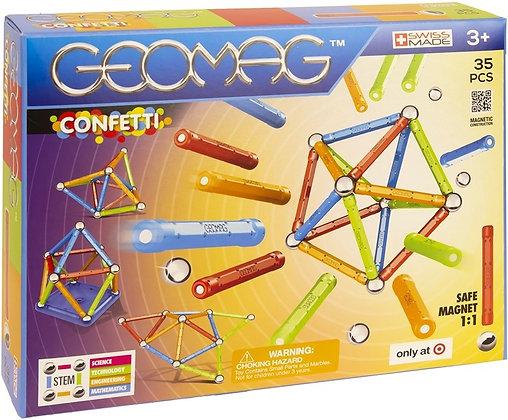 Geomag Confetti Target 35 pcs