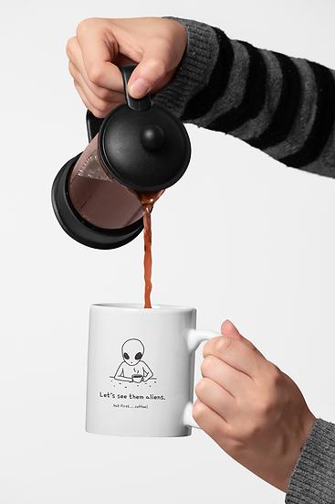 But first...coffee! Mug