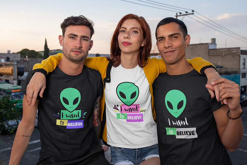 I Want to Believe T-Shirt (XS-XL)