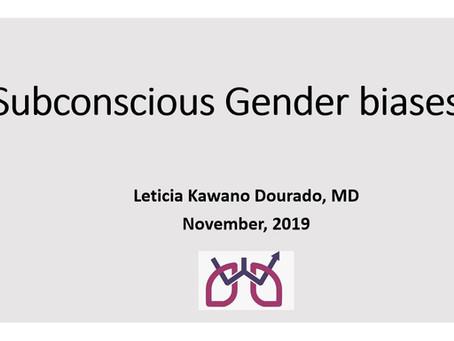 Lecture on Subconscious Gender Bias - aula Vieses Implícitos de Gênero