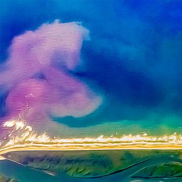 Pink Dragon - Art by Cristiano Chaussard