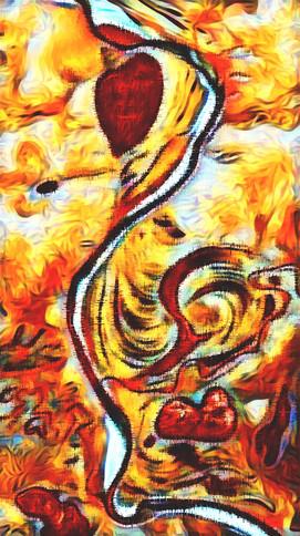 Le Coq Passionné - Art by Cristiano Chaussard