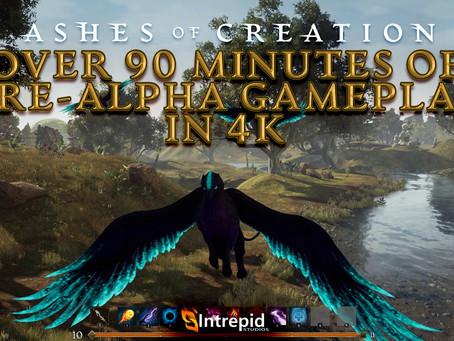 Mais de 90 Minutos de Jogabilidade Pré-Alfa em 4K