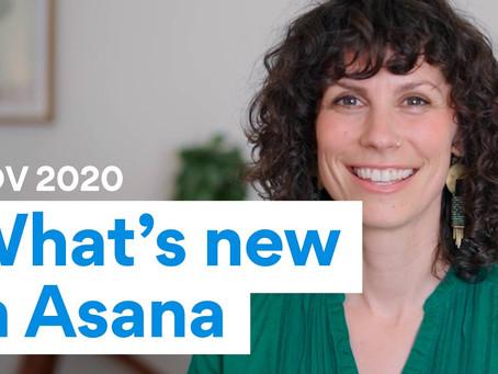 What's New in Asana | November 2020