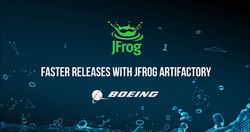 How Boeing are accelerating their Releases with JFrog Artifactory