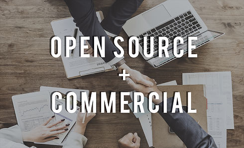 Open Source & Commercial