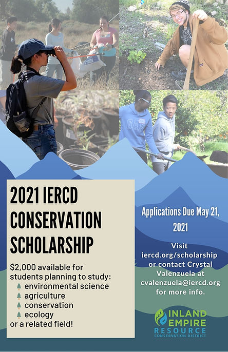 $2,000 available for students planning t