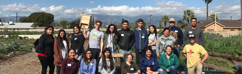 Rialto High School at Huerta del Valle Community Garden
