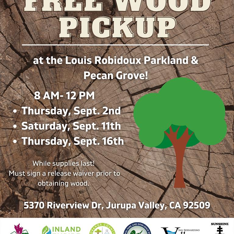 Free Wood Pickup!