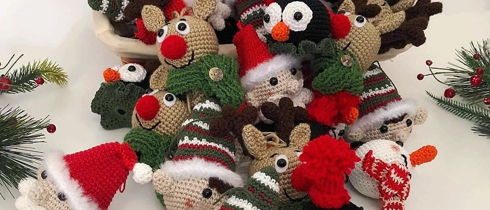 Christmas characters ornaments for christmas tree