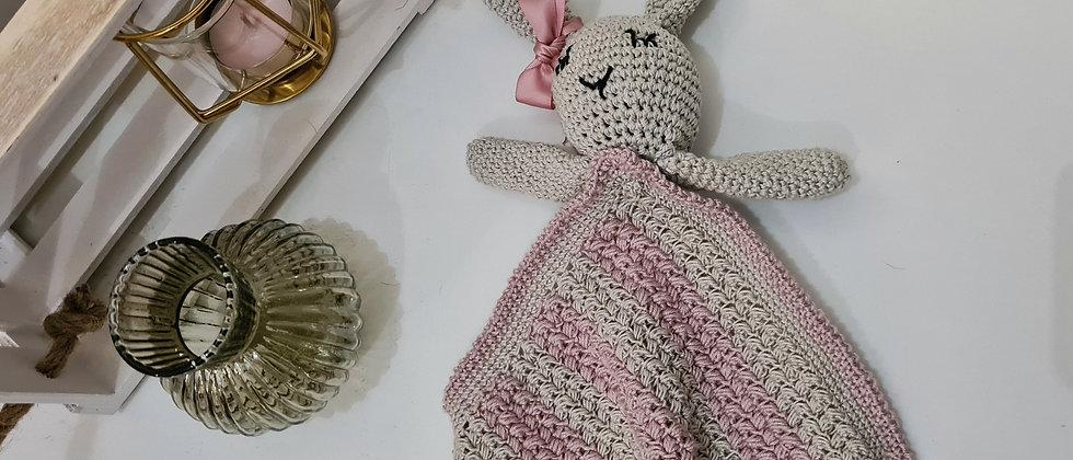Sleeping bunny blanket for babies