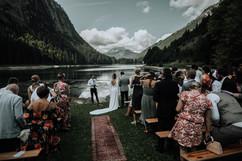 Wedding Ceremony French Alps