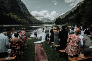 The Ceremony at Lac Montriond