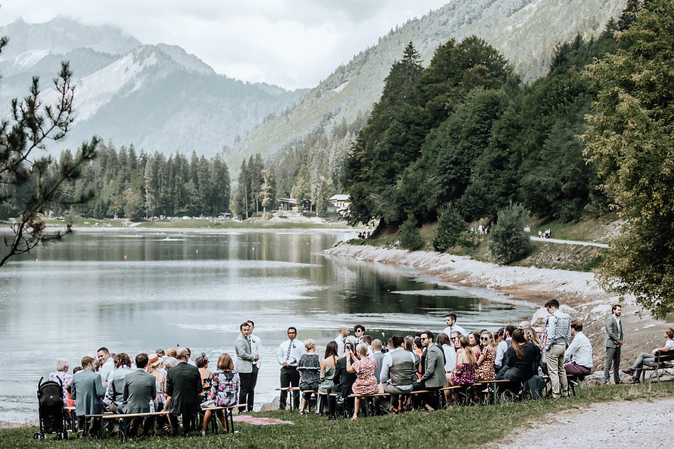 Wedding Ceremony Lac Montriond