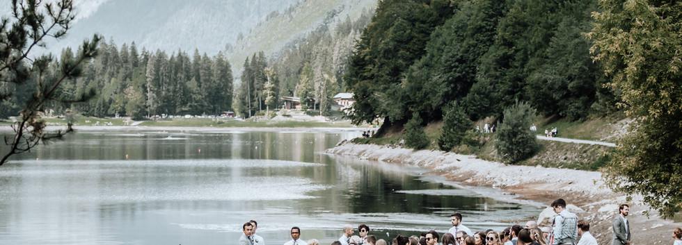 Wedding Ceremony Lac Montriond